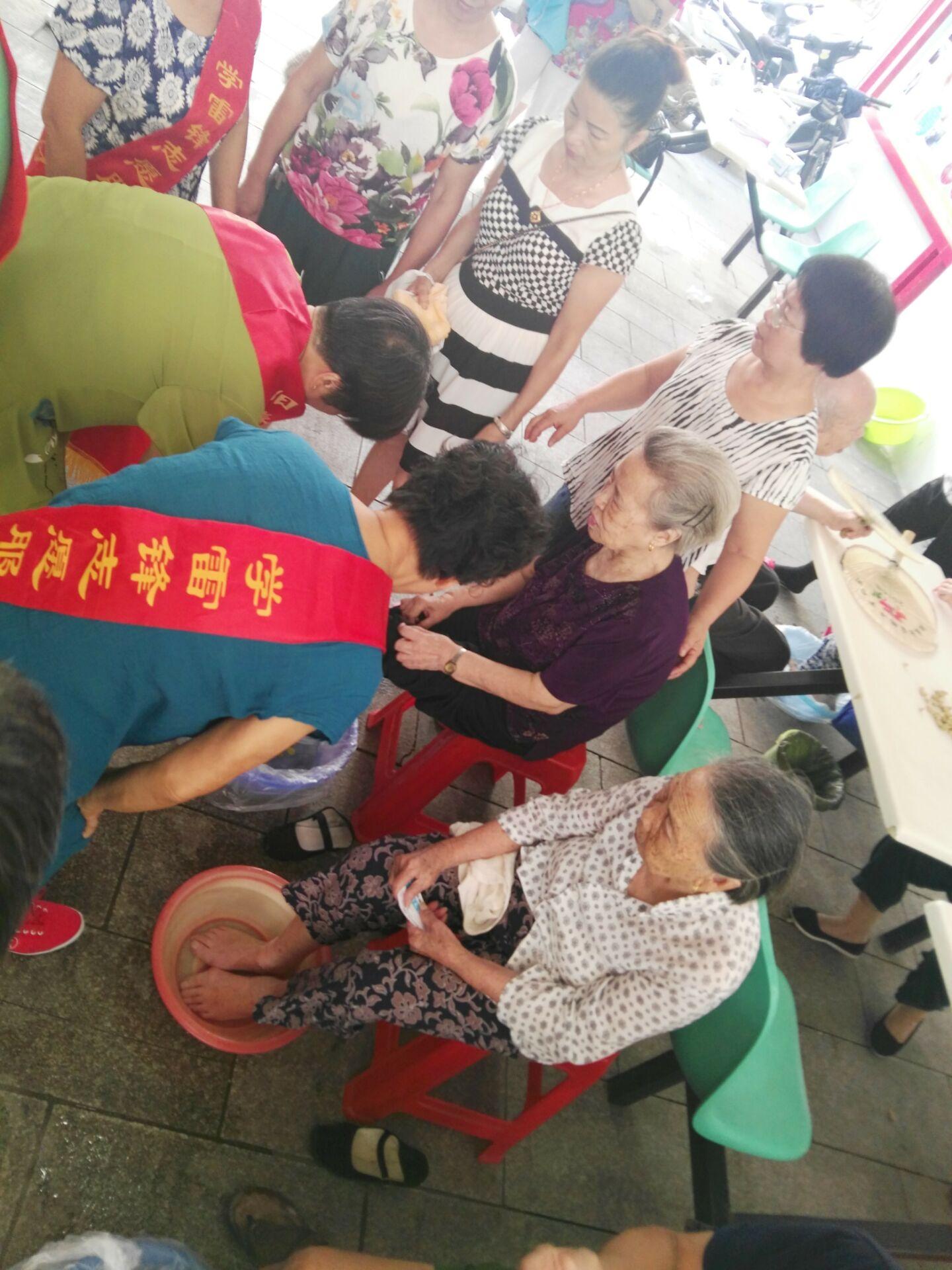 阳春社区为老年居民新增服务项目