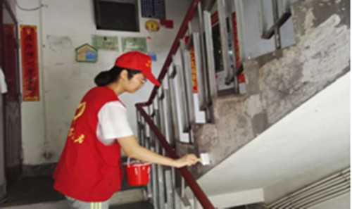 """9月16日开展""""周末家园清洁行动""""志愿服务活动"""