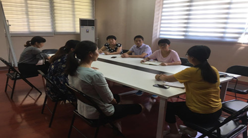 召开社区创城工作部署会会议